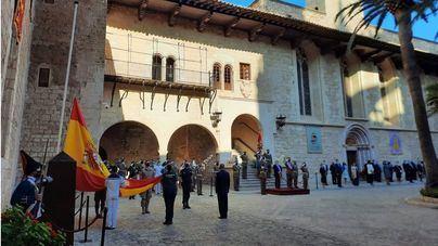 La Comandancia de Baleares celebra el 12 de octubre con el recuerdo del 'trabajo de todos en la pandemia'