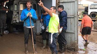 Sant Llorenç nombra este miércoles hijo adoptivo a Rafa Nadal por su ayuda en la torrentada