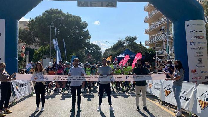 Llucmajor acoge la primera etapa de la XXIV Challenge Volta a Mallorca