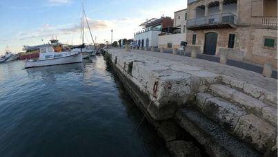 Ports inicia las obras de rehabilitación del muelle de la Aduana, en Portocolom