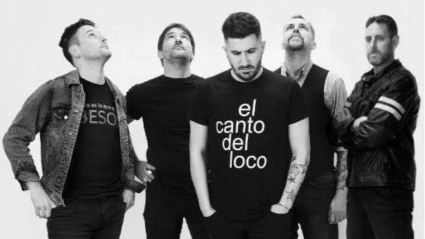 Estados de Ánimo, la banda tributo a El Canto del Loco, actuará este mes en el Auditòrium de Palma