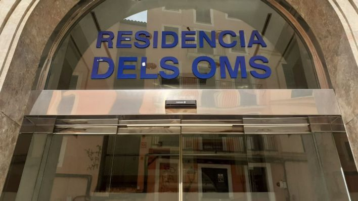 Usuarios de la residencia Oms, en tratamiento de sarna tras detectarse un caso