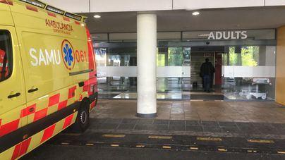 Un motorista sufre heridas graves tras caer en Escorca