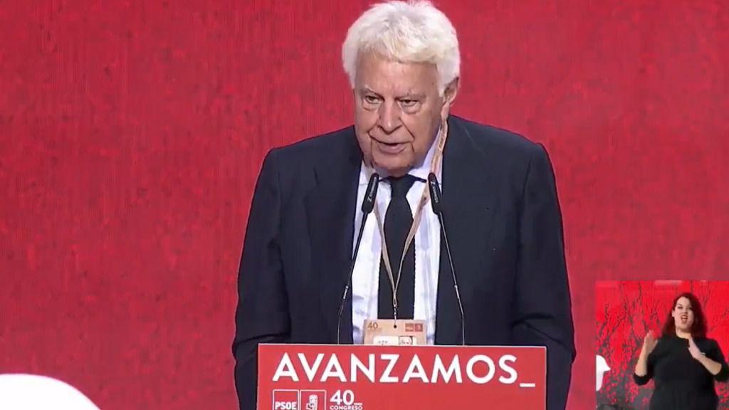 'A mucha honra', González critica a Podemos y celebra pertenecer al 'régimen del 78'
