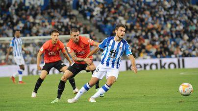 Cruel derrota del Mallorca en el Reale Arena
