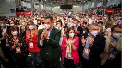Sánchez alardea de un PSOE 'unido y fuerte' y defiende anular la reforma laboral del PP