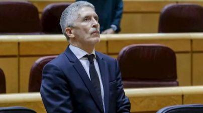 Marlaska: 'No hay preocupación extraordinaria por la avalancha de inmigrantes'