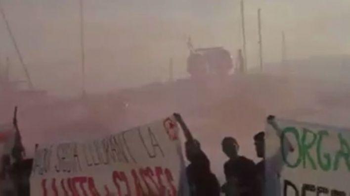 El juicio contra los jóvenes de Arran de la protesta turismofóbica será en diciembre