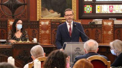 Hila anuncia una inversión de 2,5 millones de euros para reformar la plaza de España