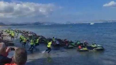 El campeonato mundial de motos de agua se celebra hasta el 24 de octubre con epicentro en Can Picafort