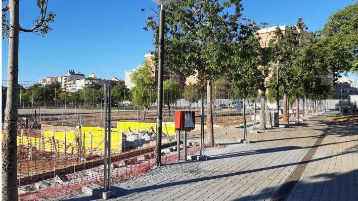 El parque Wifi estará cerrado hasta finales de noviembre por obras