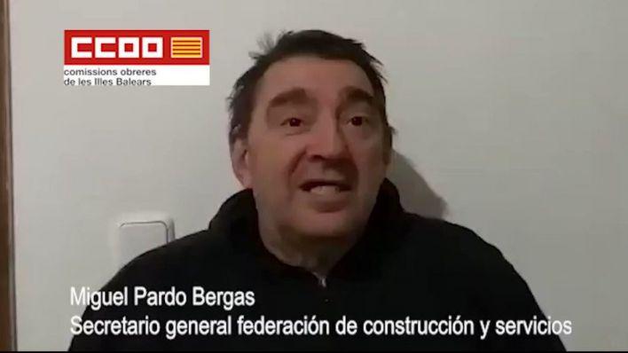 CCOO, tras el audio del sindicalista Pardo: