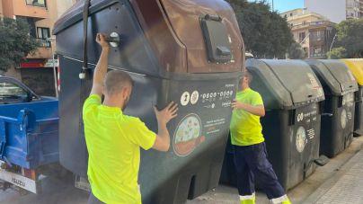 Los contenedores de materia orgánica llegan a Playa de Palma, Sant Jordi y Llevant