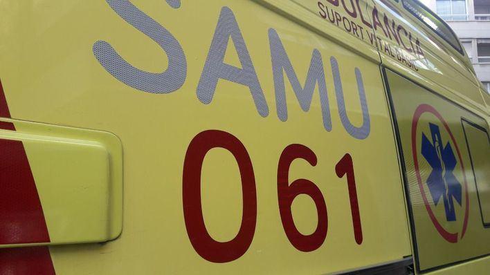 Herido grave un policía nacional tras colisionar su motocicleta contra un coche en Platja de Palma