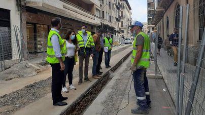 La calle Costa i Llobera será peatonal en el mes de diciembre