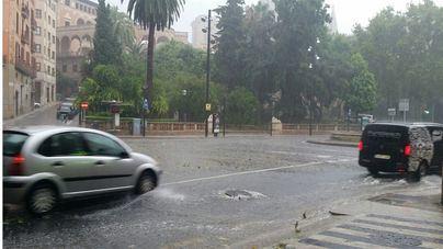 Mallorca, en alerta por chubascos y tormentas fuertes