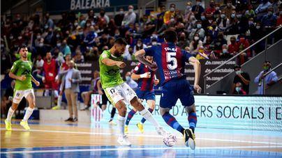 Al Palma Futsal se le escapa la victoria en el último minuto