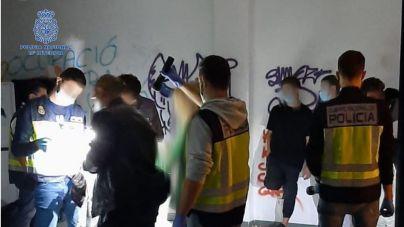 Detenidos siete jóvenes por robo con fuerza en casas de Palma