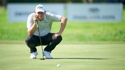 Jeff Winther, vencedor del Mallorca Open de Golf disputado en Calvià