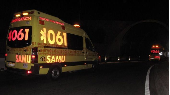 Tres heridos en un accidente de tráfico en la carretera que une Manacor y Porto Cristo