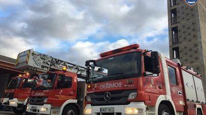Los Bomberos de Mallorca se desplazan a Andratx para extinguir un incendio forestal
