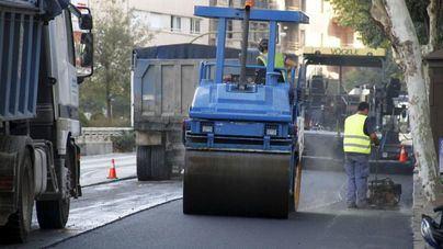 Inician las obras de asfaltado de 4.500 metros cuadrados en calles de Son Oliva