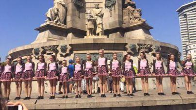 16 alumnas de la academia Davinia Van Praag participan en un programa de Telecinco