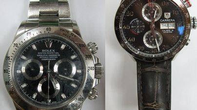 Detenido un hombre que visitaba Ibiza para comprar relojes de alta gama robados y venderlos en Argelia