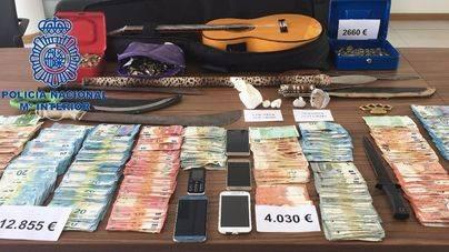 Distribuían miles de euros falsos en tiendas y puestos de la ONCE en Ibiza