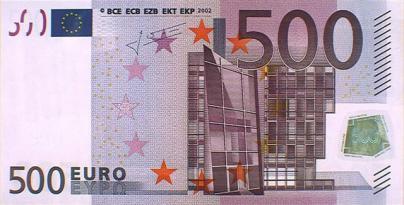 El Banco de España deja de emitir billetes de 500 euros