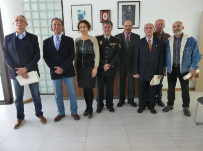 La Policía Nacional rinde homenaje a los Policías jubilados