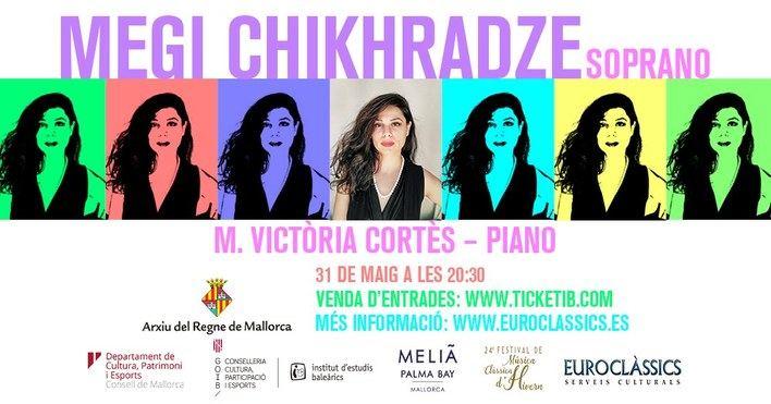 El Festival de Música Clásica de Invierno ofrece la actuación de la soprano Megi Chikhradze