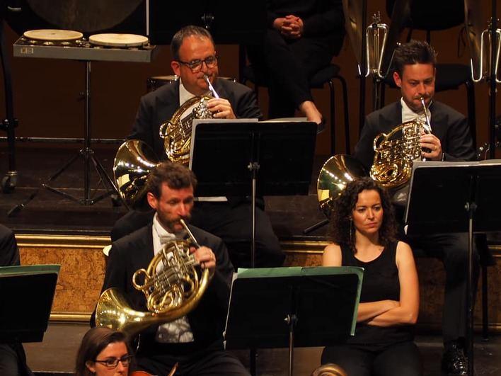 Un quinteto de metal de la Sinfónica de Baleares actuará en el 'Festival Formentera Film'