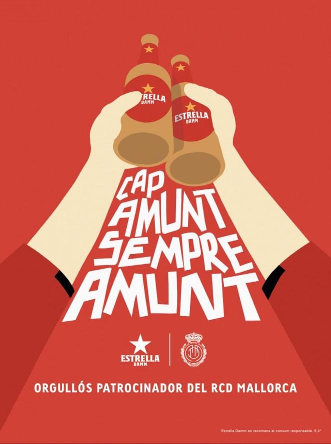El RCD Mallorca y Estrella Damm presentan 'Cap Amunt, Sempre Amunt'