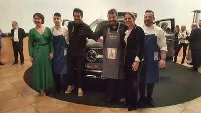 Autovidal presenta el nuevo GLE de Mercedes Benz en las Bodegas Suau