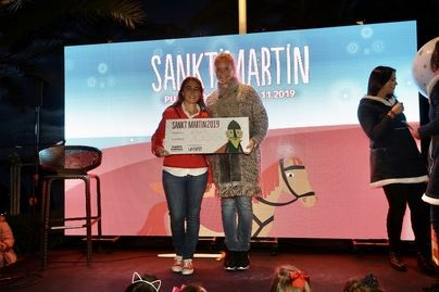 La sexta edición de Sankt Martin permite a Puerto Portals donar 1.000 euros a Fundacion RANA
