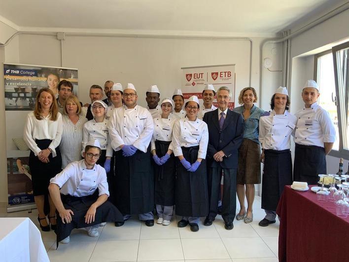 La ETB y THB College inauguran su Escuela de Cocina en Manacor