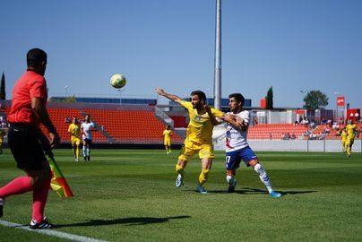 El Atlético Baleares encaja su primera derrota