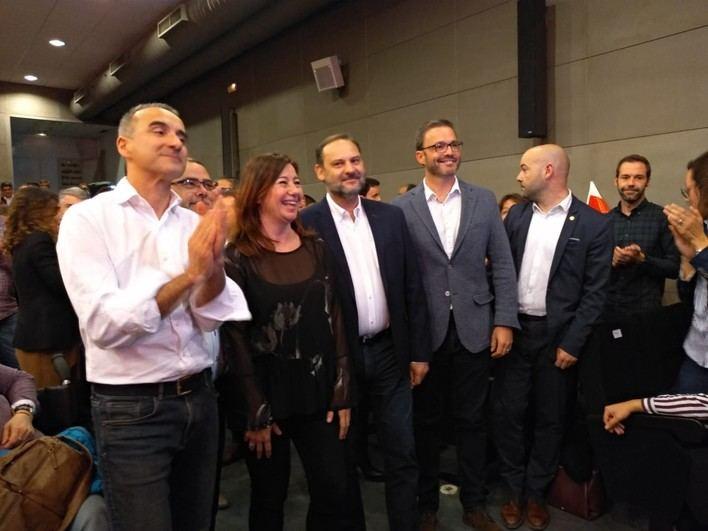 Ábalos junto a Armengol dice que 'sólo el PSOE tiene un proyecto para España'