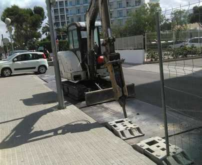 Acotur denuncia obras de Emaya en Playa de Palma en plena temporada turística