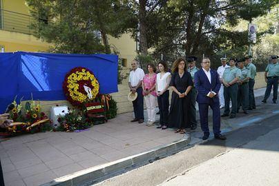 Calvià recuerda a Diego Salvá y Carlos Sáenz de Tejada, los dos guardias civiles asesinados por ETA