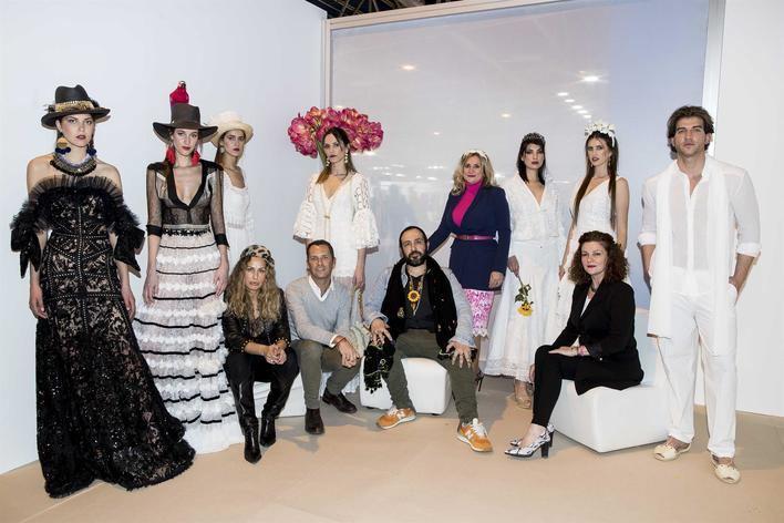 Cuatro diseñadores de Adlib Moda Ibiza desfilan en el Moda Momad