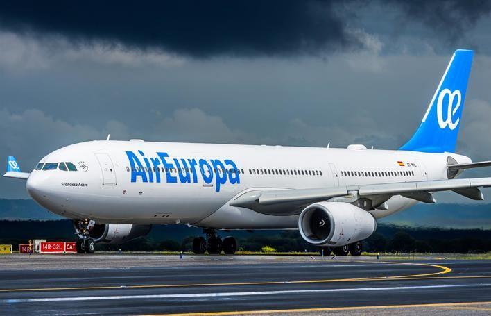 Air Europa prevé llegar a los 13 millones de pasajeros transportados en 2019