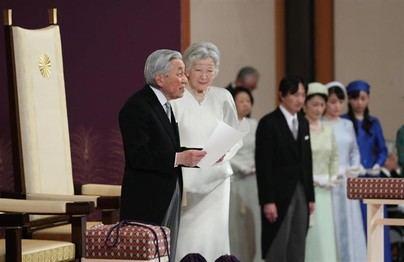 El emperador de Japón renuncia al trono tras 30 años de reinado