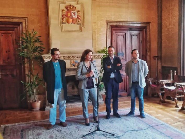 Acuerdo para coordinar la futura gestión del área metropolitana de Palma
