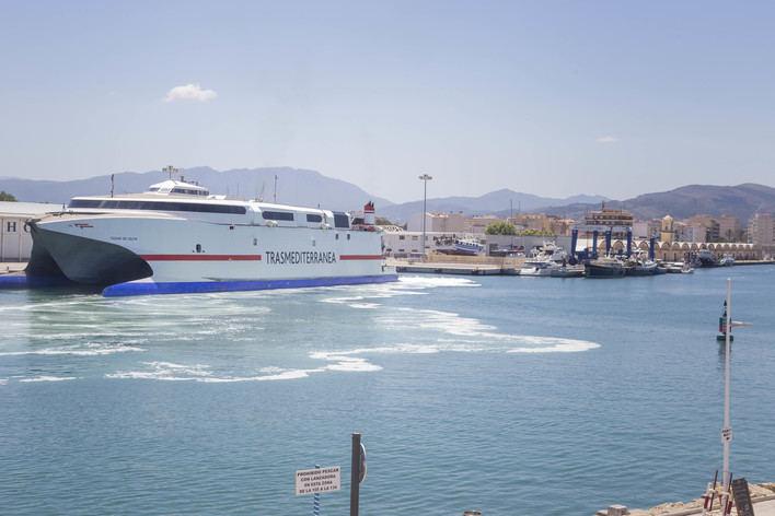 Trasmediterránea ofrece este verano más de un millón de plazas entre Península y Baleares