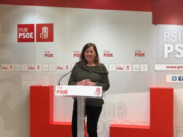 Pere Joan Pons y Sofia Hernánz encabezan las listas del PSOE al Congreso