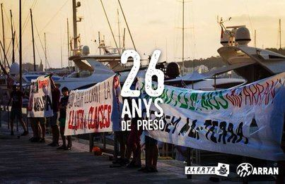 Piden penas que suman 26 años para 11 acusados de Arran que protestaron contra el turismo