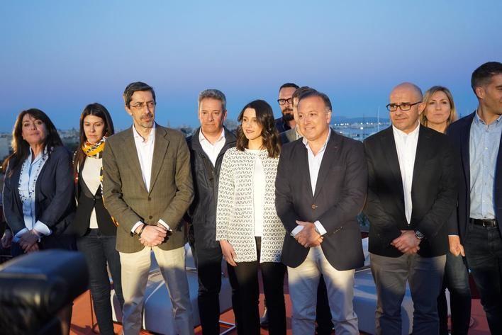 Arrimadas afirma en Palma que 'el nacionalismo se contagia más que la gripe'