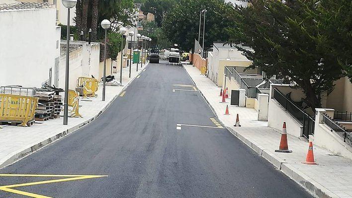 Cort realiza obras de accesibiidad y pavimentación en 4 barrios de Palma